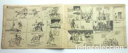 Tebeos: FLAS GORDON. EL TORNEO DE LA MUERTE- 1942- Nº 3 -EDIT HISPANO AMERICANA - Foto 3 - 133250202