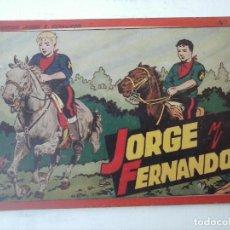 Tebeos: COLECCIÓN JORGE Y FERNADO Nº 4. Lote 133257342