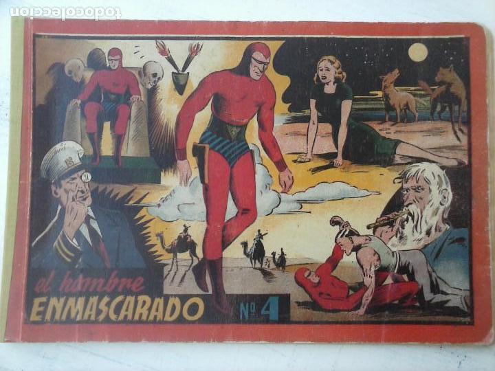 EL HOMBRE ENMASCARADO Nº 4 (Tebeos y Comics - Hispano Americana - Hombre Enmascarado)