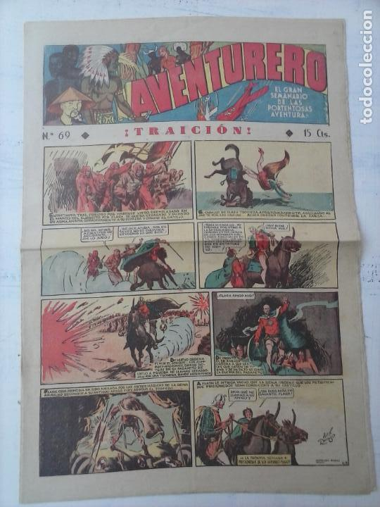 AVENTURERO Nº 69 - MUY BUEN ESTADO (Tebeos y Comics - Hispano Americana - Aventurero)