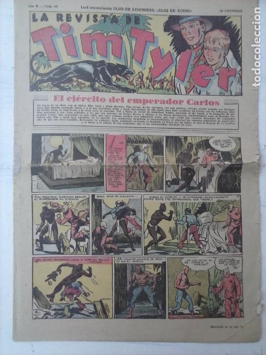 TIM TYLER Nº 60 ( JORGE Y FERNADO ) LYMAN YOUNG (Tebeos y Comics - Hispano Americana - Tim Tyler)