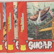 Tebeos: SUGAR. HISPANO AMERICANA 1963-65. LOTE DE 5 EJEMPLARES : 42,46,47(2) Y DROGAS EN EGIPTO. . Lote 133895726