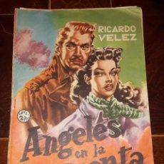 Tebeos: ANGELES EN LA TORMENTA - RICARDO VELEZ - LOTE 18 NÚMEROS. Lote 133896490