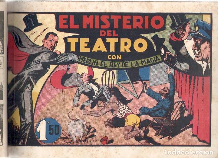 Tebeos: NUMULITE L0376 Merlin el mago 6 comics El monstruo de las dos cabezas El mago del deporte merlin el - Foto 4 - 134152150