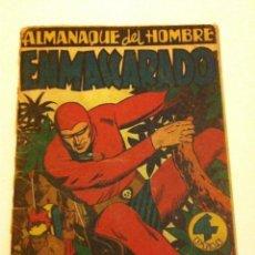 Tebeos: HOMBRE ENMASCARADO- ALMANAQUE 1947 -INCOMPLETO. Lote 134316222
