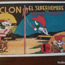 Tebeos: HISPANO AMERICANA,- CICLÓN EL SUPERHOMBRE Nº 11 - 12 Y 16,DEL FORMATO GRANDE.. Lote 134830974