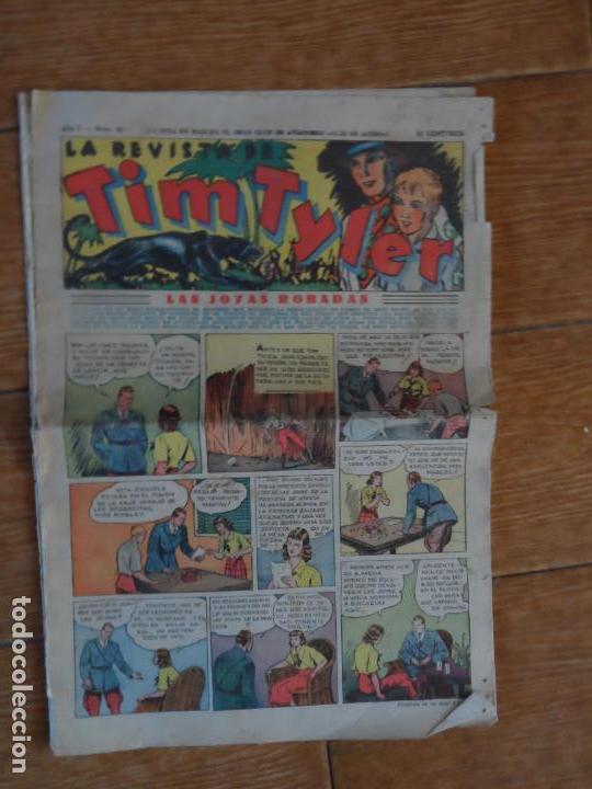 TIM TYLER, Nº 20 - EDITORIAL HISPANO AMERICANA 1934 (Tebeos y Comics - Hispano Americana - Tim Tyler)