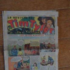 Tebeos: TIM TYLER, Nº 20 - EDITORIAL HISPANO AMERICANA 1934 . Lote 134846726
