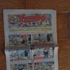 Tebeos: YUMBO Nº 101 EDITORIAL HISPANO AMERICANA 1934. Lote 134847282