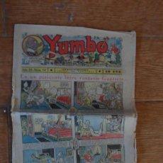 Tebeos: YUMBO Nº 94 EDITORIAL HISPANO AMERICANA SEPTIEMBRE 1936 . Lote 134847434
