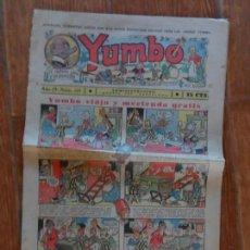Tebeos: YUMBO Nº 115 EDITORIAL HISPANO AMERICANA ENERO 1937. Lote 134847550