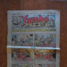 Tebeos: YUMBO Nº 128 EDITORIAL HISPANO AMERICANA MAYO 1937. Lote 134847706