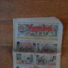 Tebeos: YUMBO Nº 106 EDITORIAL HISPANO AMERICANA NOVIEMBRE 1936. Lote 134848022
