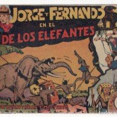 Tebeos: NUMULITE L0384 JORGE Y FERNANDO 18 COMIC TOMO I Y III HISPANO AMERICANA DE EDICIONES. Lote 134852626