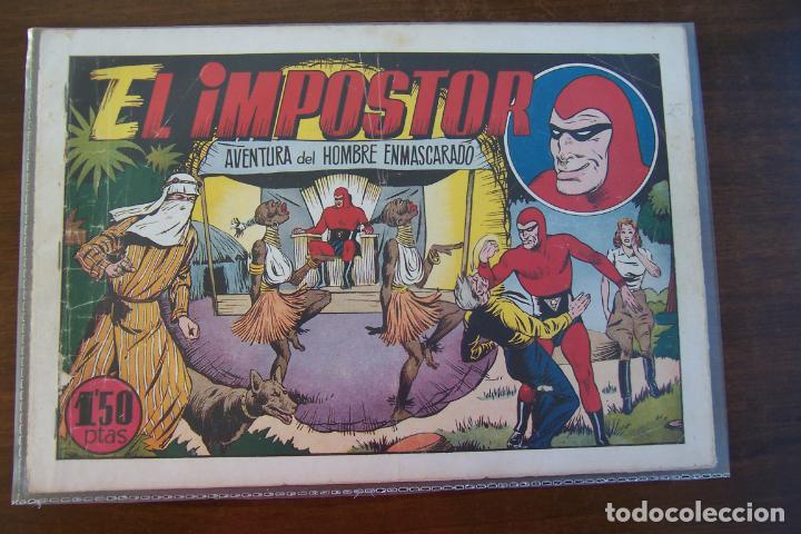 Tebeos: hispano americana, gran lote del hombre enmascarado, ver. - Foto 17 - 141162360