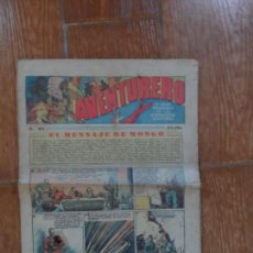 Tebeos: AVENTURERO Nº 85 EDITORIAL HISPANO AMERICANA 1936. Lote 134944022