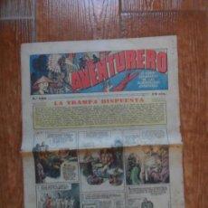 Tebeos: AVENTURERO Nº 105 EDITORIAL HISPANO AMERICANA 1937 FLASH GORDON , TARZAN X 9 MERLIN MANDRAKE. Lote 134944338