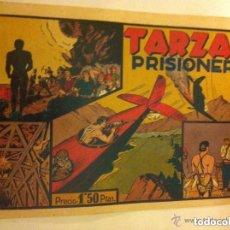Tebeos: TARZÁN - PRISIONERO - MUY BIEN CONSERVADO. Lote 135162902
