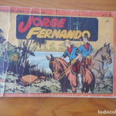 Tebeos: JORGE Y FERNANDO. ALBUM ROJO Nº 1. EDITORIAL HISPANO AMERICANA 1944. Lote 135616310