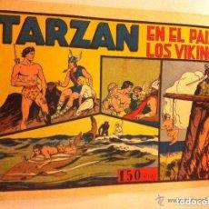 Tebeos: TARZAN - EN EL PAIS DE LOS VIKINGOS - EXCELENTE CONSERVACIÓN. Lote 135732355