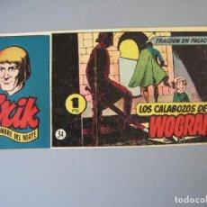 Tebeos: ERIK. EL HOMBRE DEL NORTE (1952, HISPANO AMERICANA) 34 · 1952 · TRAICIÓN EN PALACIO. Lote 136218650