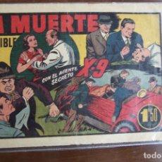 Tebeos: HISPANO AMERICANA,- AGENTE SECRETO X-9 Nº LA MUERTE INVISIBLE . Lote 136737890