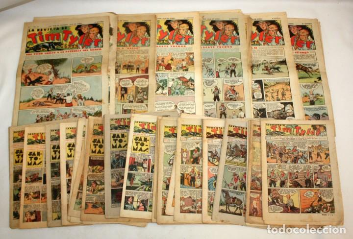 TIM TYLER: 44 EJEMPLARES-(HISPANO AMERICANA)-1936 (Tebeos y Comics - Hispano Americana - Tim Tyler)
