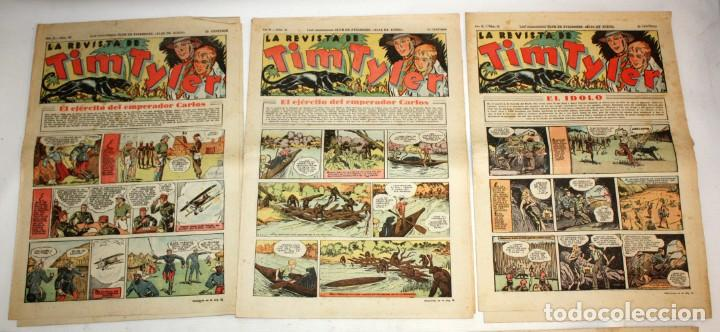 Tebeos: TIM TYLER: 44 EJEMPLARES-(HISPANO AMERICANA)-1936 - Foto 3 - 146111646