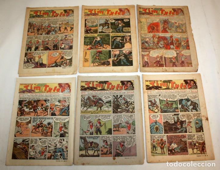Tebeos: TIM TYLER: 44 EJEMPLARES-(HISPANO AMERICANA)-1936 - Foto 7 - 146111646