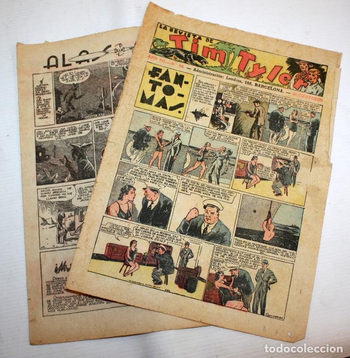 Tebeos: TIM TYLER: 44 EJEMPLARES-(HISPANO AMERICANA)-1936 - Foto 8 - 146111646