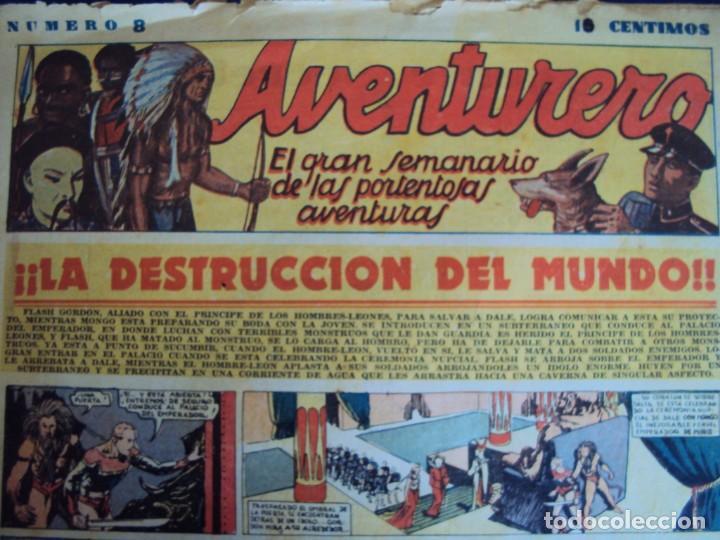 (COM-181090)LOTE DE 53 EJEMPLARES DEL AVENTURERO - LA DESTRUCCION DEL MUNDO (Tebeos y Comics - Hispano Americana - Aventurero)