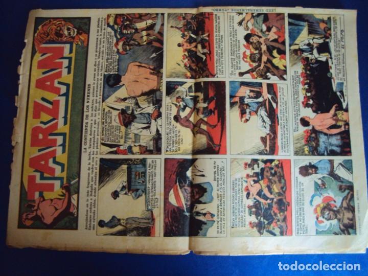 Tebeos: (COM-181090)LOTE DE 53 EJEMPLARES DEL AVENTURERO - LA DESTRUCCION DEL MUNDO - Foto 3 - 137881850