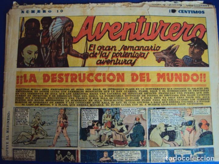Tebeos: (COM-181090)LOTE DE 53 EJEMPLARES DEL AVENTURERO - LA DESTRUCCION DEL MUNDO - Foto 4 - 137881850