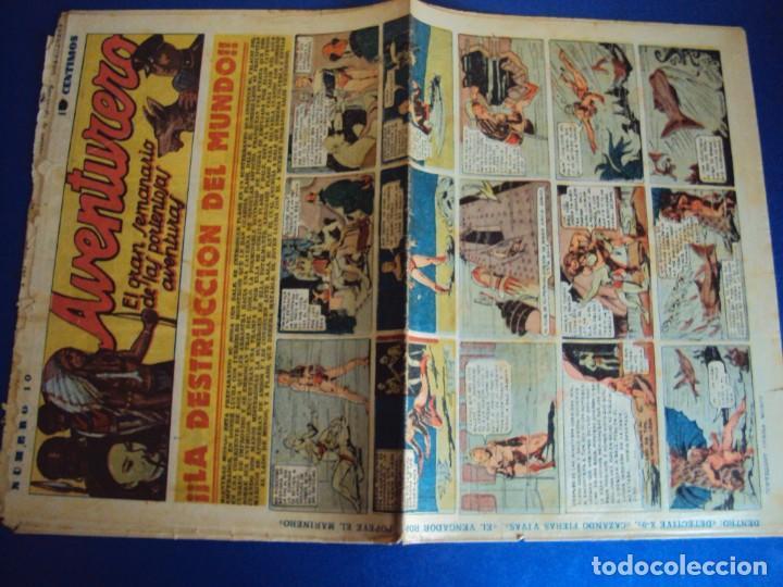 Tebeos: (COM-181090)LOTE DE 53 EJEMPLARES DEL AVENTURERO - LA DESTRUCCION DEL MUNDO - Foto 5 - 137881850