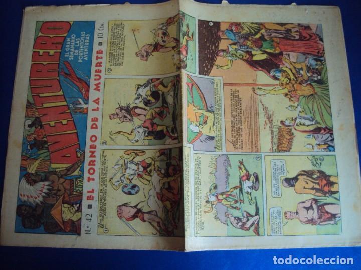 Tebeos: (COM-181090)LOTE DE 53 EJEMPLARES DEL AVENTURERO - LA DESTRUCCION DEL MUNDO - Foto 11 - 137881850