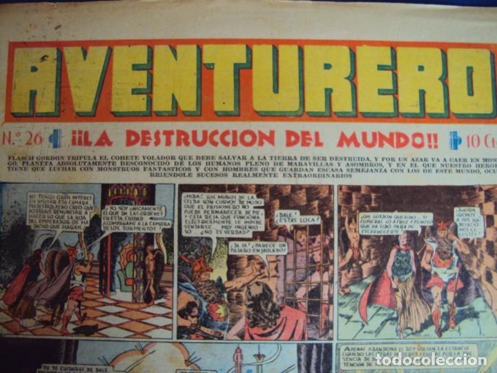 Tebeos: (COM-181090)LOTE DE 53 EJEMPLARES DEL AVENTURERO - LA DESTRUCCION DEL MUNDO - Foto 13 - 137881850