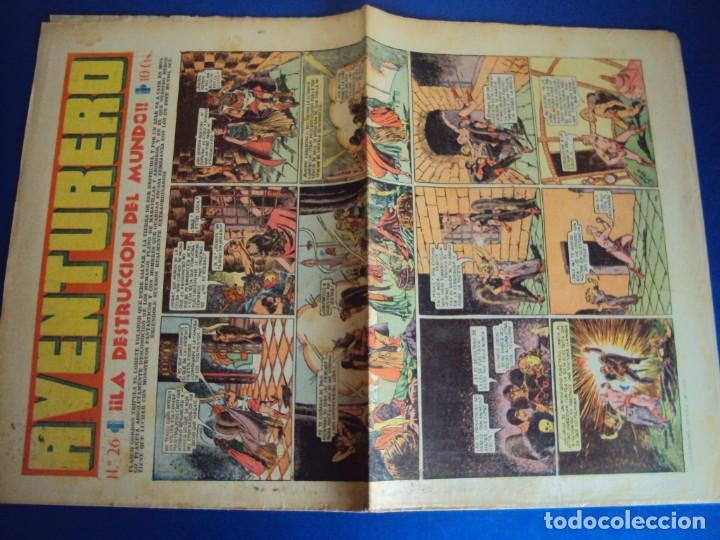 Tebeos: (COM-181090)LOTE DE 53 EJEMPLARES DEL AVENTURERO - LA DESTRUCCION DEL MUNDO - Foto 14 - 137881850