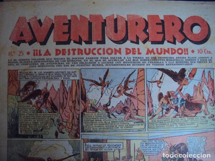 Tebeos: (COM-181090)LOTE DE 53 EJEMPLARES DEL AVENTURERO - LA DESTRUCCION DEL MUNDO - Foto 16 - 137881850