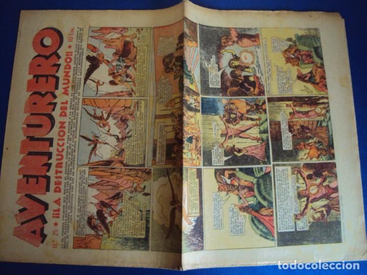 Tebeos: (COM-181090)LOTE DE 53 EJEMPLARES DEL AVENTURERO - LA DESTRUCCION DEL MUNDO - Foto 17 - 137881850