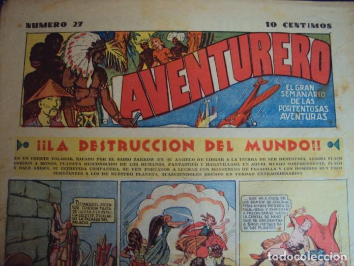 Tebeos: (COM-181090)LOTE DE 53 EJEMPLARES DEL AVENTURERO - LA DESTRUCCION DEL MUNDO - Foto 19 - 137881850