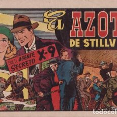 Tebeos: EL AZOTE DE STILLVILLE - AGENTE SECRETO X-9 - HISPANO AMERICANA DE EDICIONES C.1941. Lote 138891726