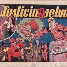 Tebeos: EL HOMBRE ENMASCARADO Nº 26: JUSTICIA EN LA SELVA. HISPANOAMERICANA DE EDICIONES. AÑOS 40. Lote 138903102