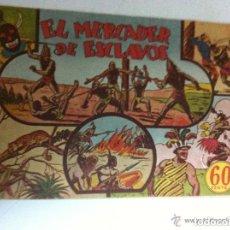 Tebeos: JORGE FERNANDO - EL MERCADER DE ESCLAVOS- EXTRAORDINARIA CONSERVACIÓN. Lote 139002738