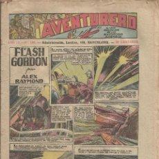Tebeos: AVENTURERO AÑO IV Nº 130 FLASH GORDON - ORIGINAL A.1935. Lote 139027246