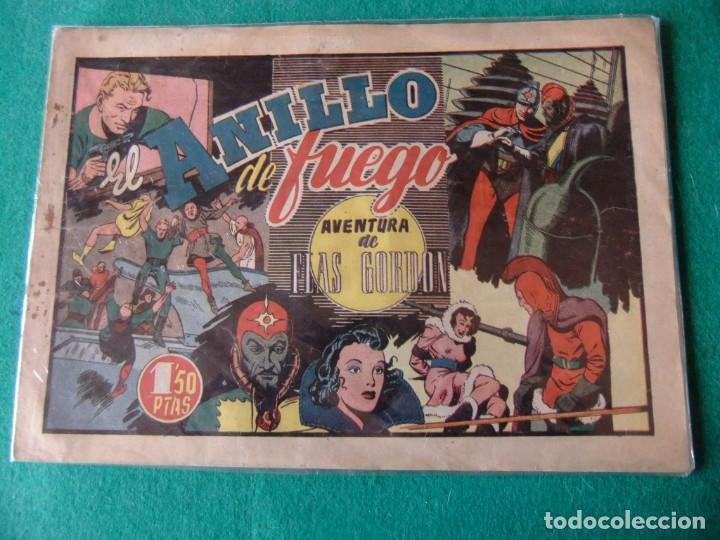 FLAS GORDON EL ANILLO DE FUEGO HISPANO AMERICANA ORIGINAL (Tebeos y Comics - Hispano Americana - Flash Gordon)