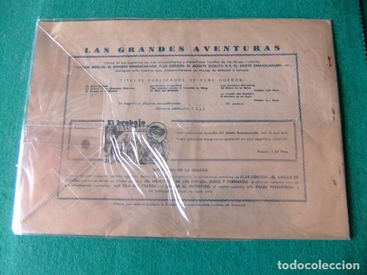 Tebeos: FLAS GORDON EL ANILLO DE FUEGO HISPANO AMERICANA ORIGINAL - Foto 2 - 139173550