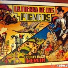 Tebeos: MERLIN - LA TIERRA DE LOS PIGMEOS- EXCELENTE CONSERVACIÓN. Lote 139669986