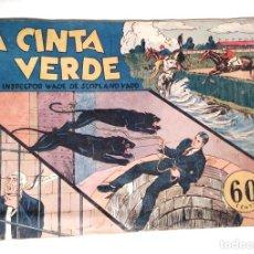 Tebeos: LA CINTA VERDE Nº 5 AÑO 1941 HISPANO AMERICANA. Lote 140047962