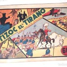 Tebeos: CARLOS EL INTRÉPIDO Nº 3, TIZOC EL TTIRANO EDITORIAL HISPANO AMERICANA AÑO 1942 . Lote 140052226