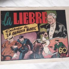 Tebeos: LA GUARDIA MOVIL Nº 3 LIEBRE HISPANO AMERICANA AÑO 1946, ESTADO IMPECABLE. Lote 140053546